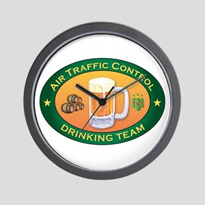 Air Traffic Control Team Wall Clock