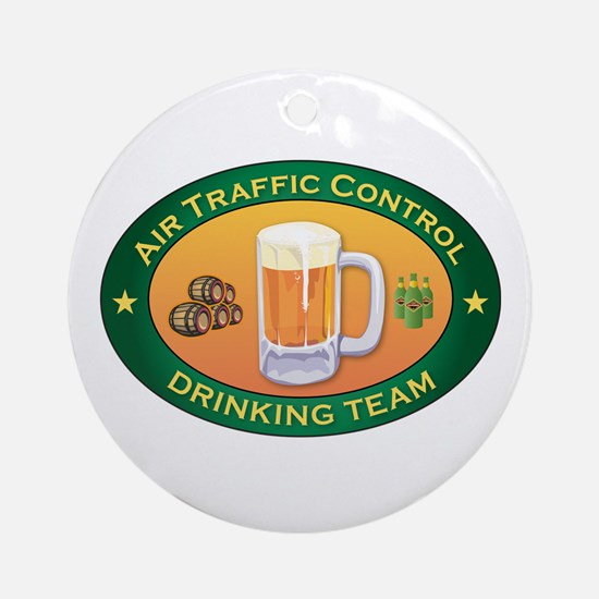 Air Traffic Control Team Ornament (Round)