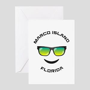 Florida - Marco Island Greeting Cards