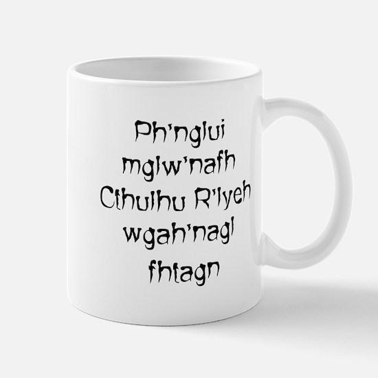 Ph'nglui Cthulhu (LrgLtr) Mug