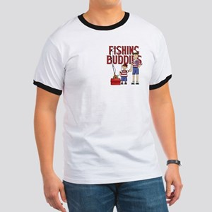 Fishing Buddies Ringer T