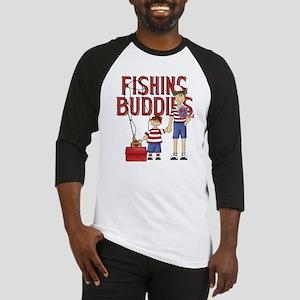 Fishing Buddies Baseball Jersey