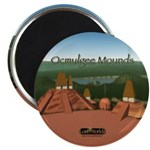 Ocmulgee Mounds Magnet