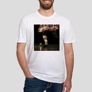Highland Sword Dancer  Fitted T-Shirt