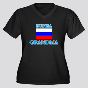 Russia Grandma Plus Size T-Shirt