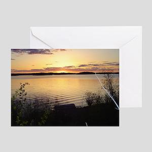 Sunset, Pukatawagan: Greeting Cards (Pk of 10)