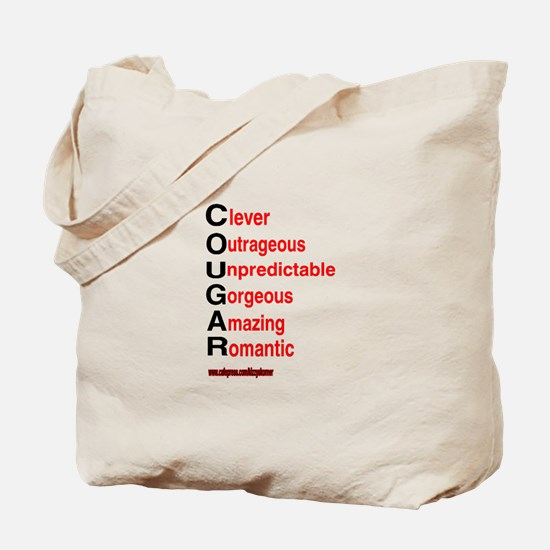 COUGARS ARE Tote Bag