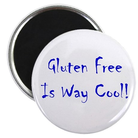 "Gluten Free Is Way Cool! 2.25"" Magnet (10 pk)"