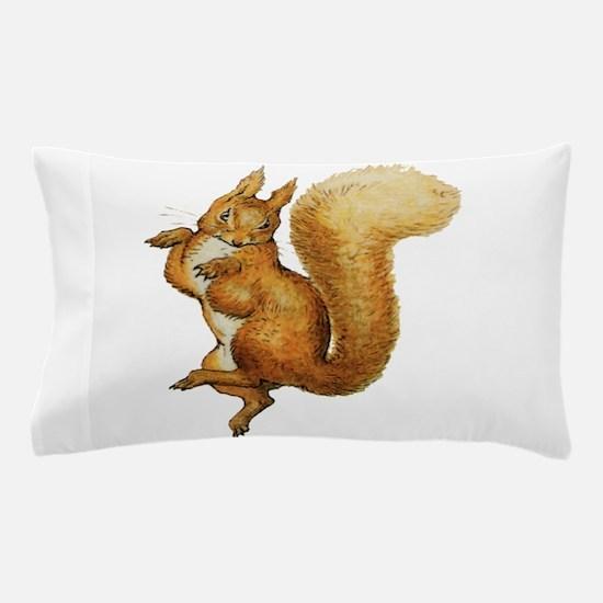 Squirrel Nutkin Pillow Case