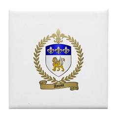 AMYOT Family Crest Tile Coaster