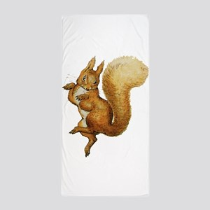 Squirrel Nutkin Beach Towel