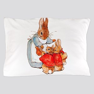 Flopsy, Mopsy and Cottontail Pillow Case