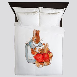 Flopsy, Mopsy and Cottontail Queen Duvet