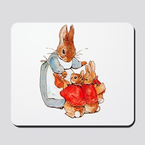 Flopsy, Mopsy and Cottontail Mousepad