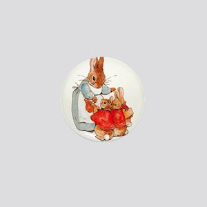 Flopsy, Mopsy and Cottontail Mini Button