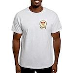 ASSELIN Family Crest Ash Grey T-Shirt