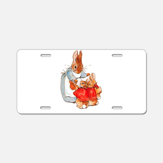 Flopsy, Mopsy and Cottontai Aluminum License Plate
