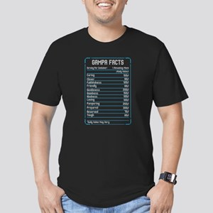 Gampa Facts Caring Clever Friendly Loving T-Shirt