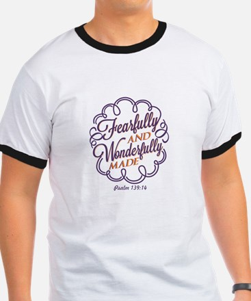 Unique Fearfully and wonderfully made T