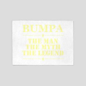 Bumpa The Man The Myth The Legend 5'x7'Area Rug
