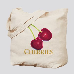 Cherries with Stems Tote Bag