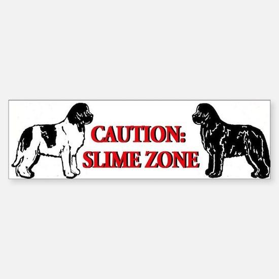 Newfoundland Slime Zone Bumper Bumper Bumper Sticker