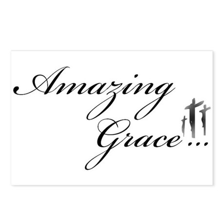Amazing Grace Postcards (Package of 8) by eleventh_hour