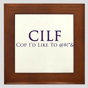 CILF Framed Tile