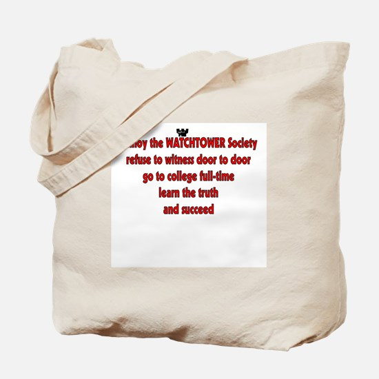 Funny Watchtower Tote Bag