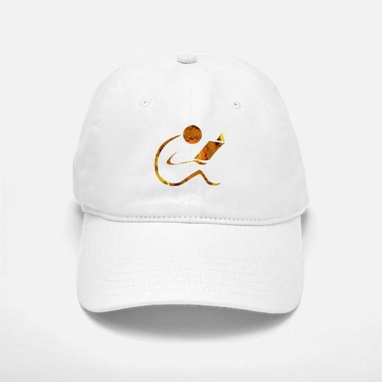 Reader - Golden - Sans Quote Baseball Baseball Cap