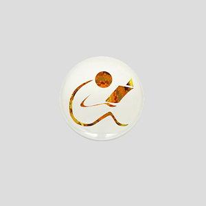 Reader - Golden - Sans Quote Mini Button