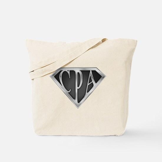 Super CPA - Metal Tote Bag