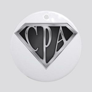 Super CPA - Metal Ornament (Round)