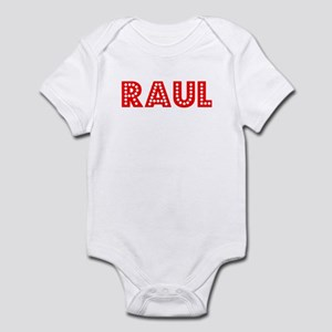 Retro Raul (Red) Infant Bodysuit