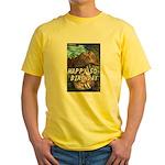 50th Birthday Gifts, 50 Yellow T-Shirt
