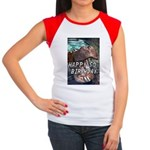 50th Birthday Gifts, 50 Women's Cap Sleeve T-Shirt