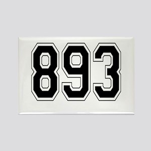 893 Rectangle Magnet