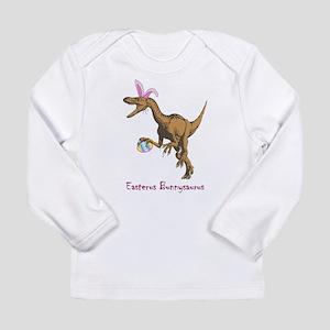 easter dinosaur Long Sleeve T-Shirt