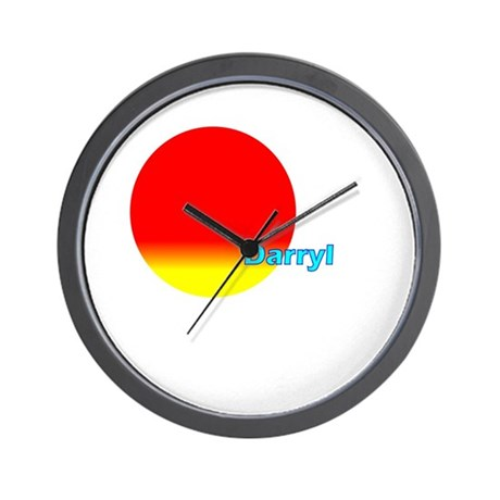 Darryl Wall Clock