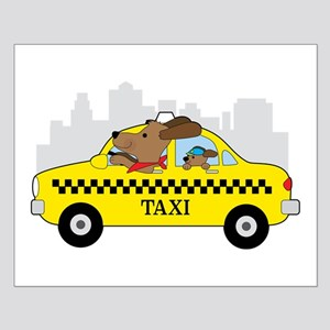 New York Taxi Dog Posters
