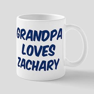 Grandpa loves Zachary Mug