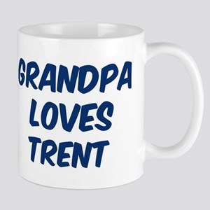 Grandpa loves Trent Mug