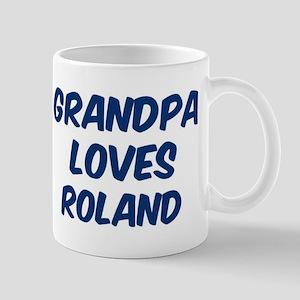 Grandpa loves Roland Mug