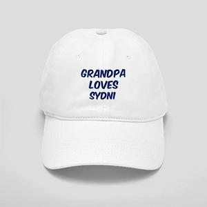 Grandpa loves Sydni Cap