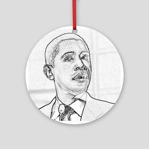 Obama Hope 08 Ornament (Round)