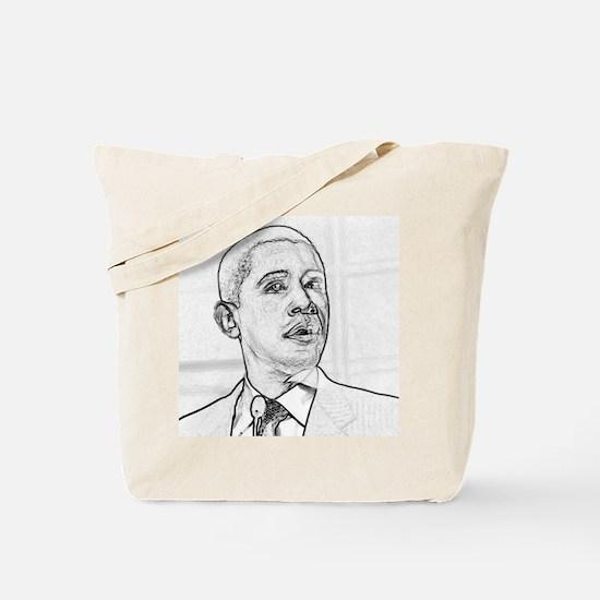 Obama Hope 08 Tote Bag