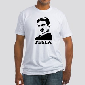 Tesla Fitted T-Shirt