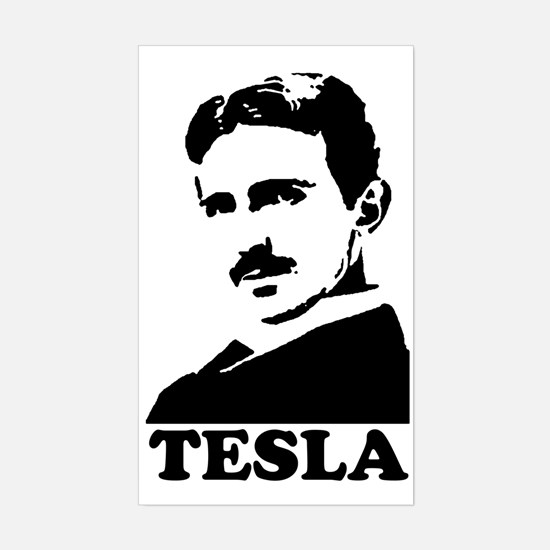 Tesla Rectangle Decal