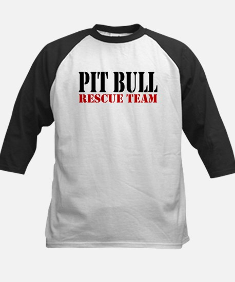PitBull Rescue Team Kids Baseball Jersey