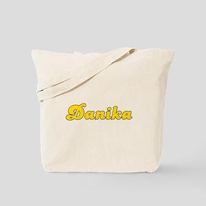Retro Danika (Gold) Tote Bag